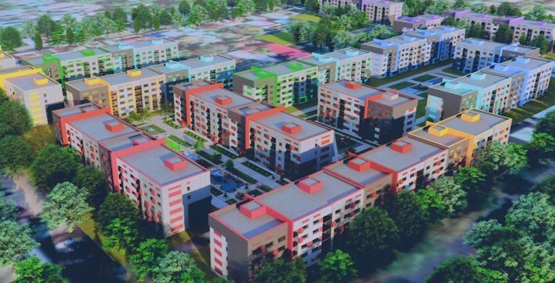 Современные дома возведут на месте ветхого жилья в Алматы