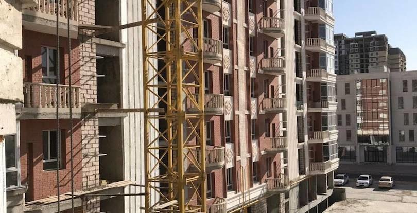 """Строительство ЖК """"Атамекен"""" в Актау будет завершено до конца года"""