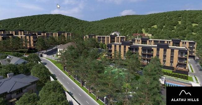 ЖК Alatau Hills