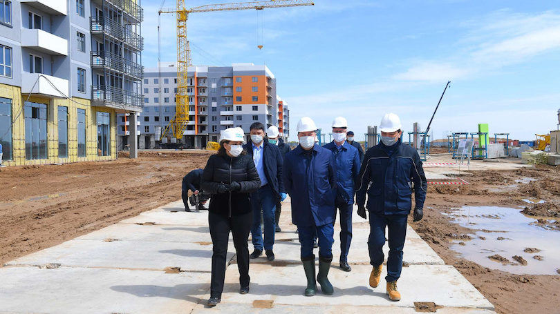 В Нур-Султане в 2020 году построят около 3 млн квадратных метров жилья