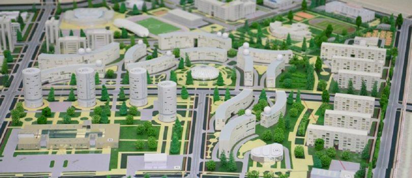Презентованы проекты застройки Кокшетау