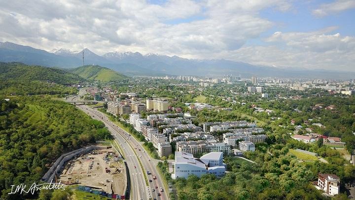 Вид на ЖК Koktobe City