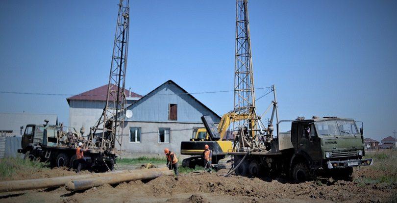 Освещение, соцобъекты, ливневки: В жилом массиве «Уркер» продолжаются работы по развитию инфраструктуры
