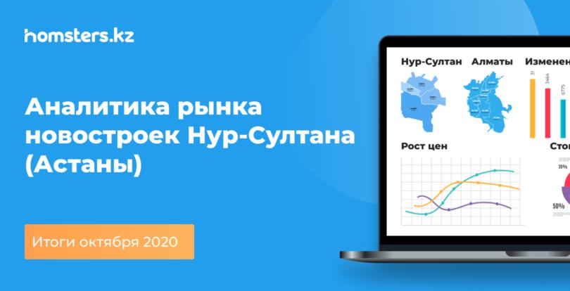Аналитика рынка новостроек Нур-Султана (Астаны): итоги октября 2020