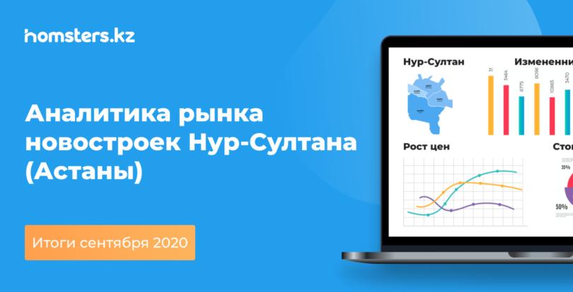 Аналитика рынка новостроек Нур-Султана (Астаны): итоги сентября 2020