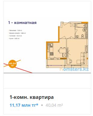 Квартиры в ЖК Athletic в Нур-Султане (Астана)