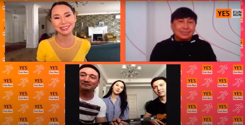 YE'S! FUN RUN – первый онлайн марафон в Казахстане, собравший более 2000 участников!