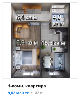 Квартиры в ЖК GRES PARK в Алматы