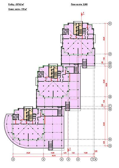 2-комнатные от 83 м²