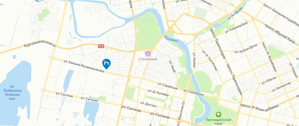 ЖК Либерти на карте