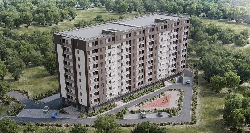 Жилой дом АКНИЕТ в Алматы
