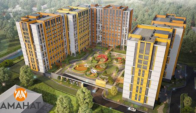 ЖК «Аманат» в Алматы