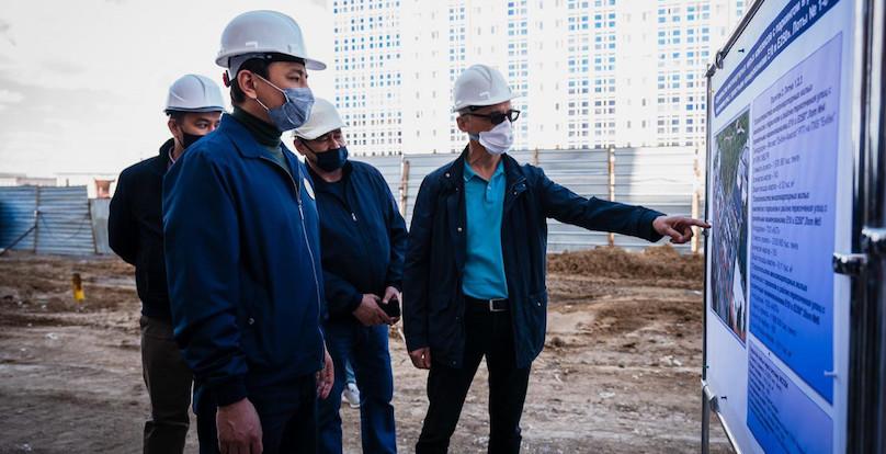 Аким столицы отчитал застройщиков за недоработки в строительстве доступного жилья