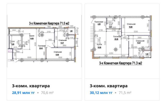 Квартиры - ЖК Kayra