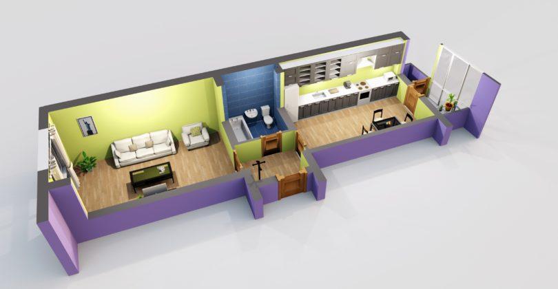 Квартира-распашонка: особенности и виды