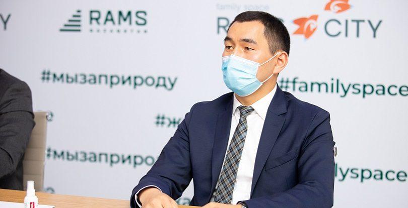 """Еркин Байбатыров о новом проекте RAMS City: """"Мы прислушались к мнению алматинцев"""""""
