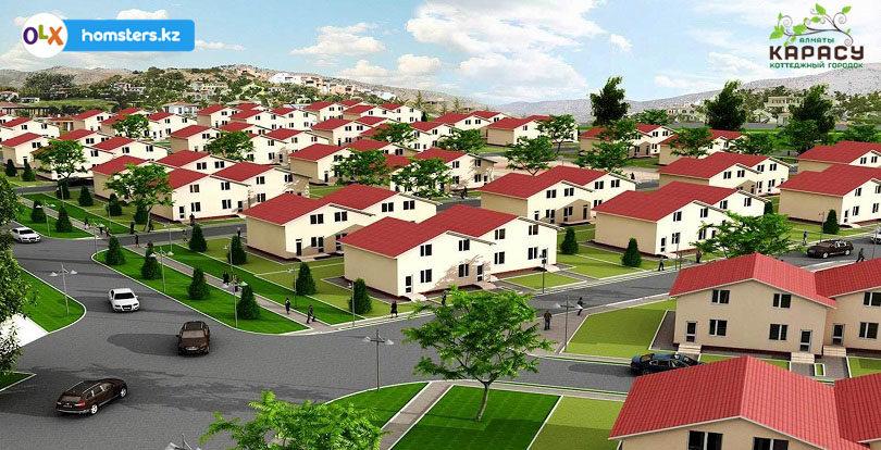 Коттеджный городок «Карасу» — комфортное и уютное место для проживания